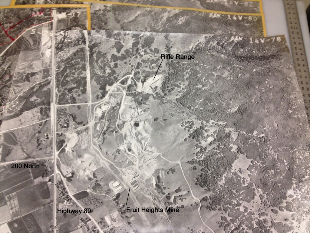 Full map picture. From 1958 aerial photograph.