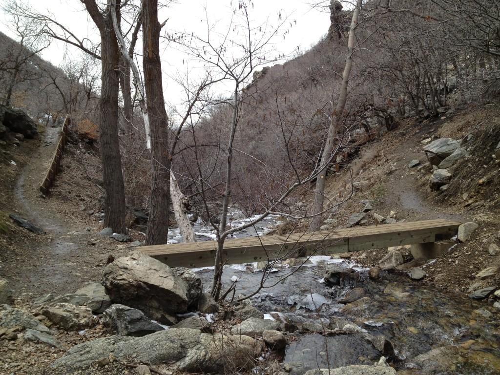 First creek crossing - bridge