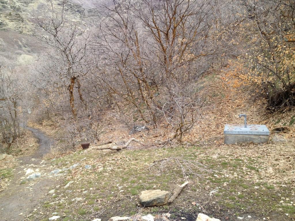 Baer Canyon metal water box