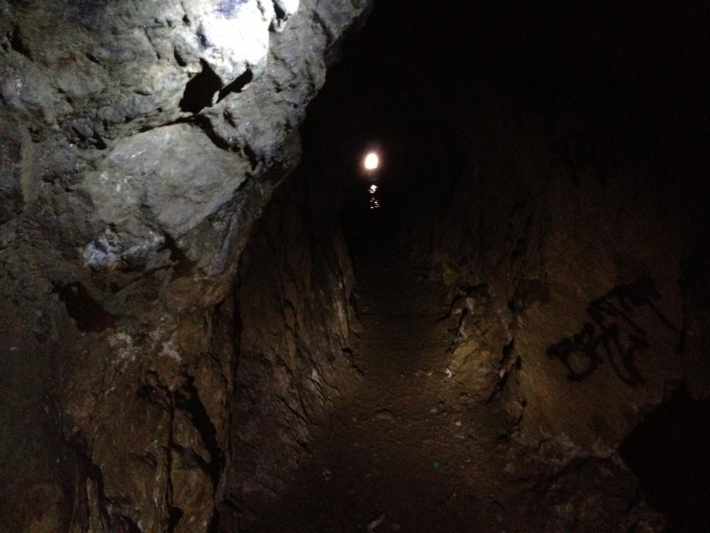 Inside the Grist Mill Mine - Farmington Utah