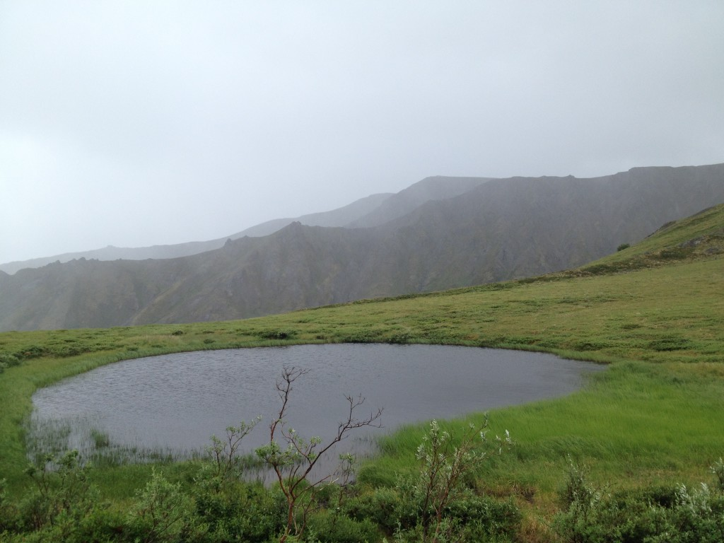 Mountain Pond that had incredible views