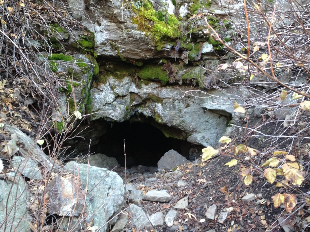 Lower Morris Mine entrance. This mine goes in 600 feet