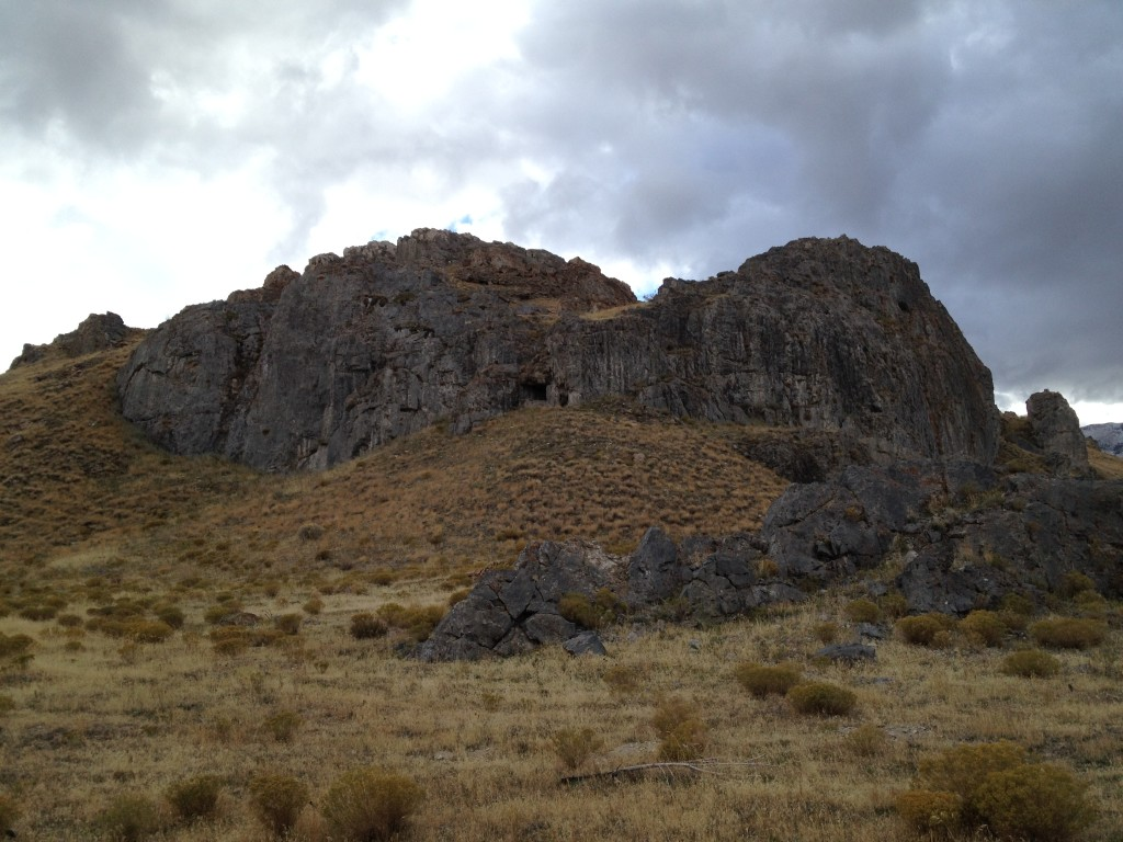 The land of many caves.