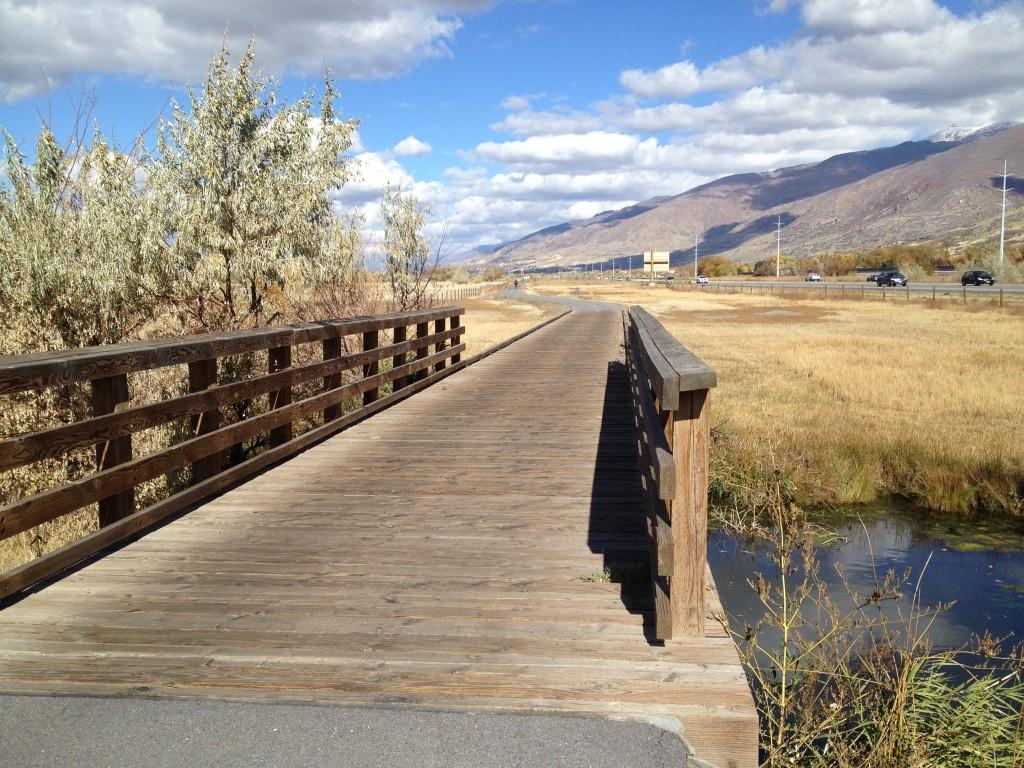 Bridge on the Legacy Parkway Trail