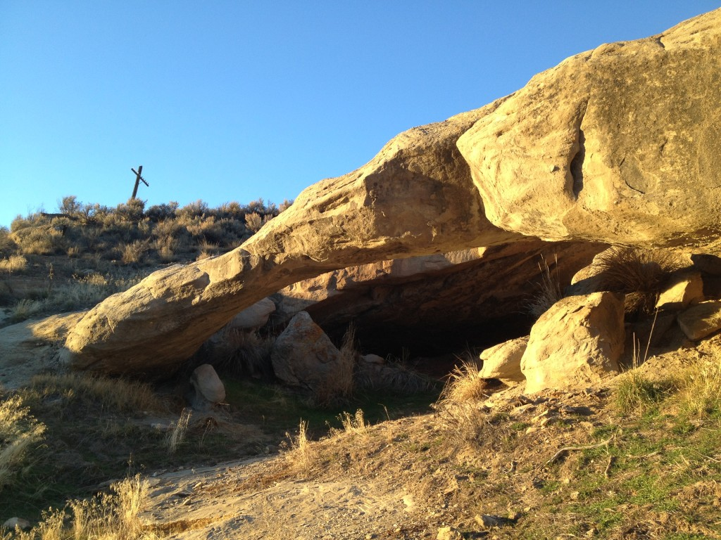 Some folks call this Echo Arch because it is in Echo Canyon
