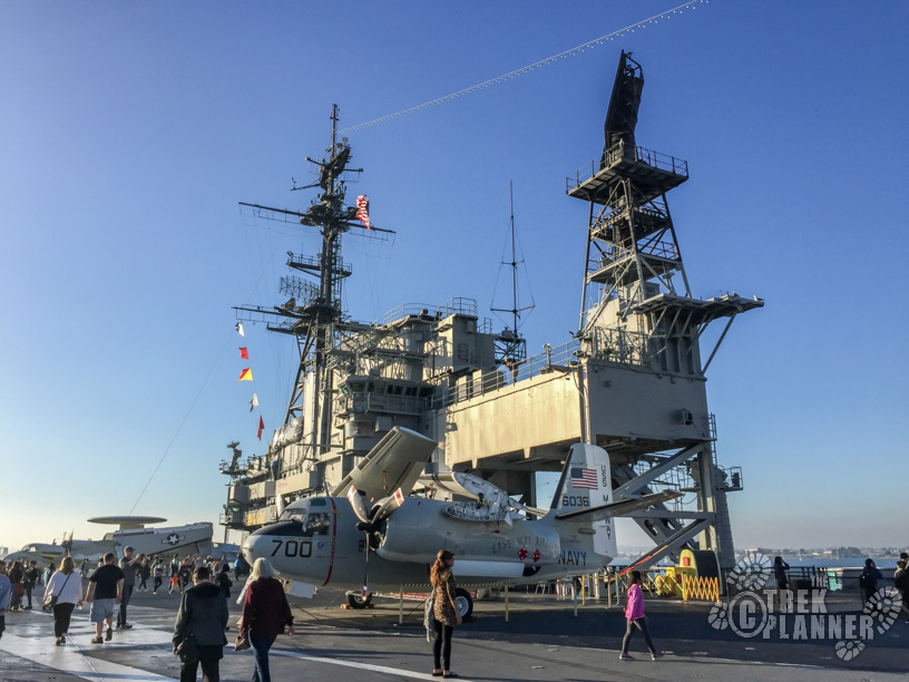 Uss Midway Aircraft Carrier San Diego California The