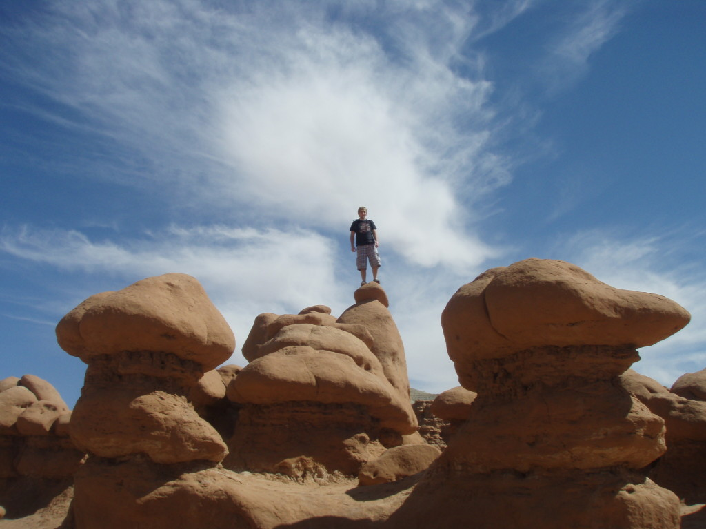 Thousands of strange rock formations that you get to crawl around on