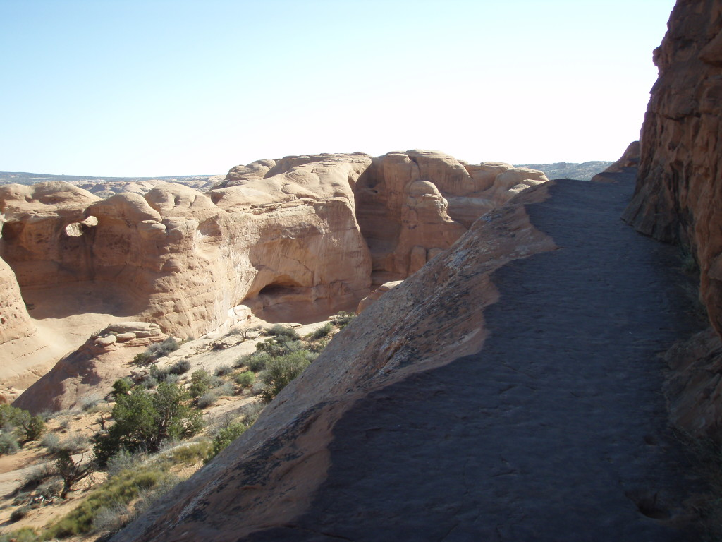 Almost to Delicate Arch.