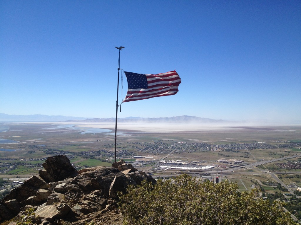 Flag Rock Farmington Utah