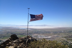 Flag Rock - Farmington Utah