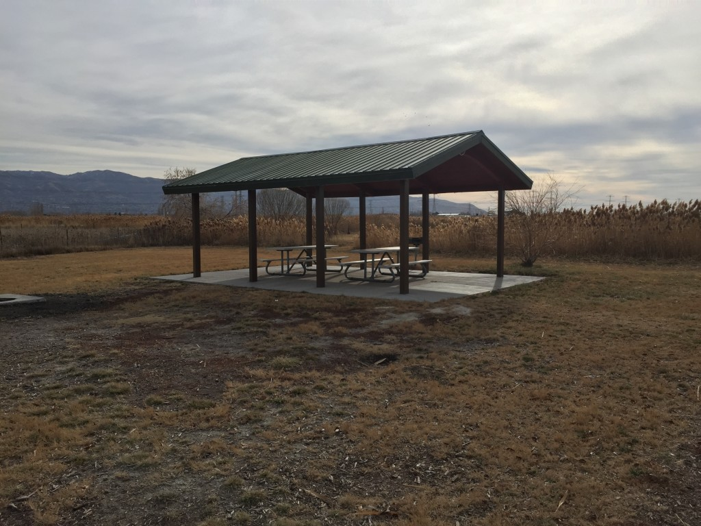 One of the many picnic areas around