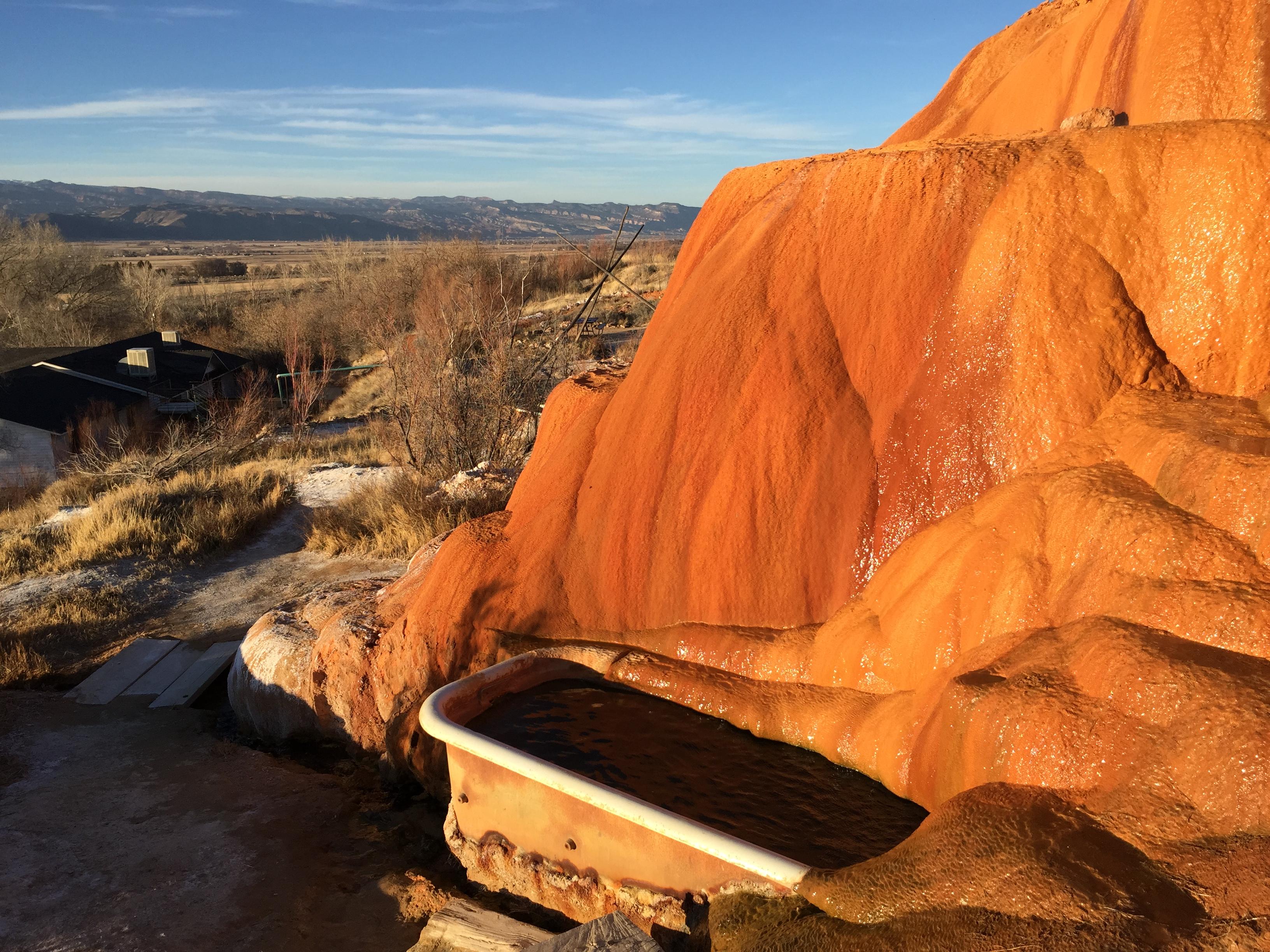 Mystic Hot Springs Monroe Utah The Trek Planner