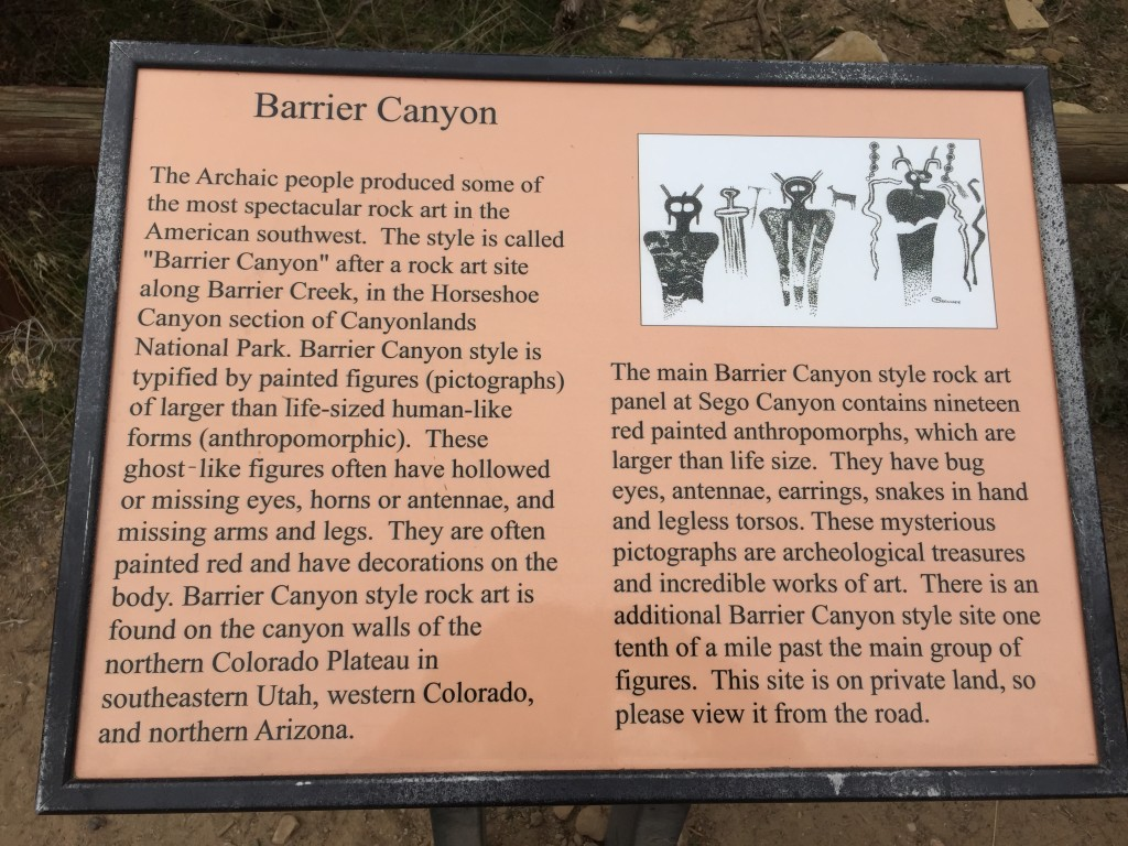 Barrier Canyon Panel