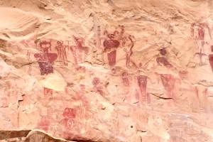 Sego Canyon Rock Art - Sego Utah