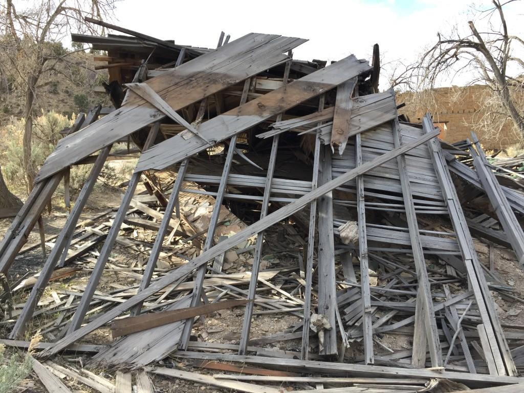 Broken down boarding house