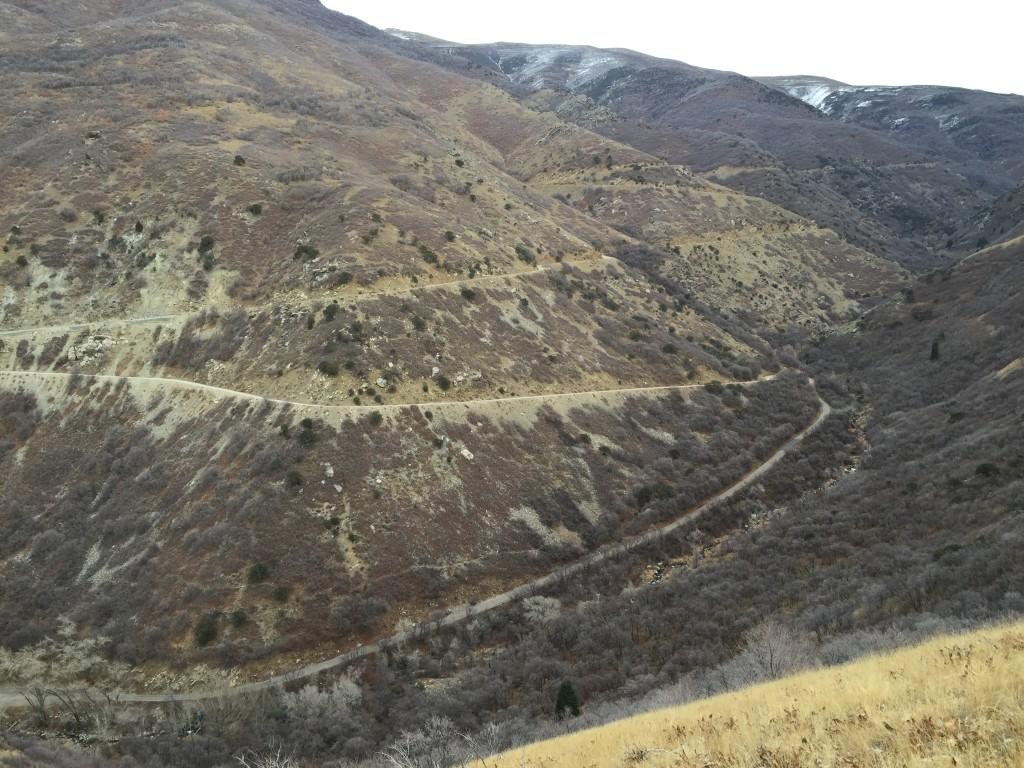 Looking into Farmington Canyon