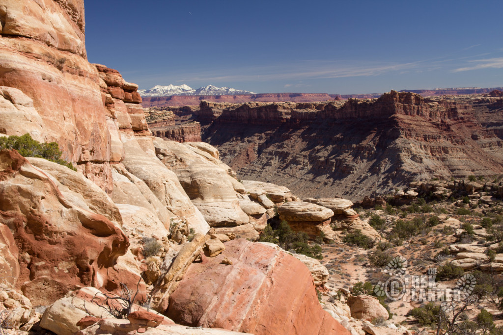 The view of Cataract Canyon as you arrive at the Ridge.