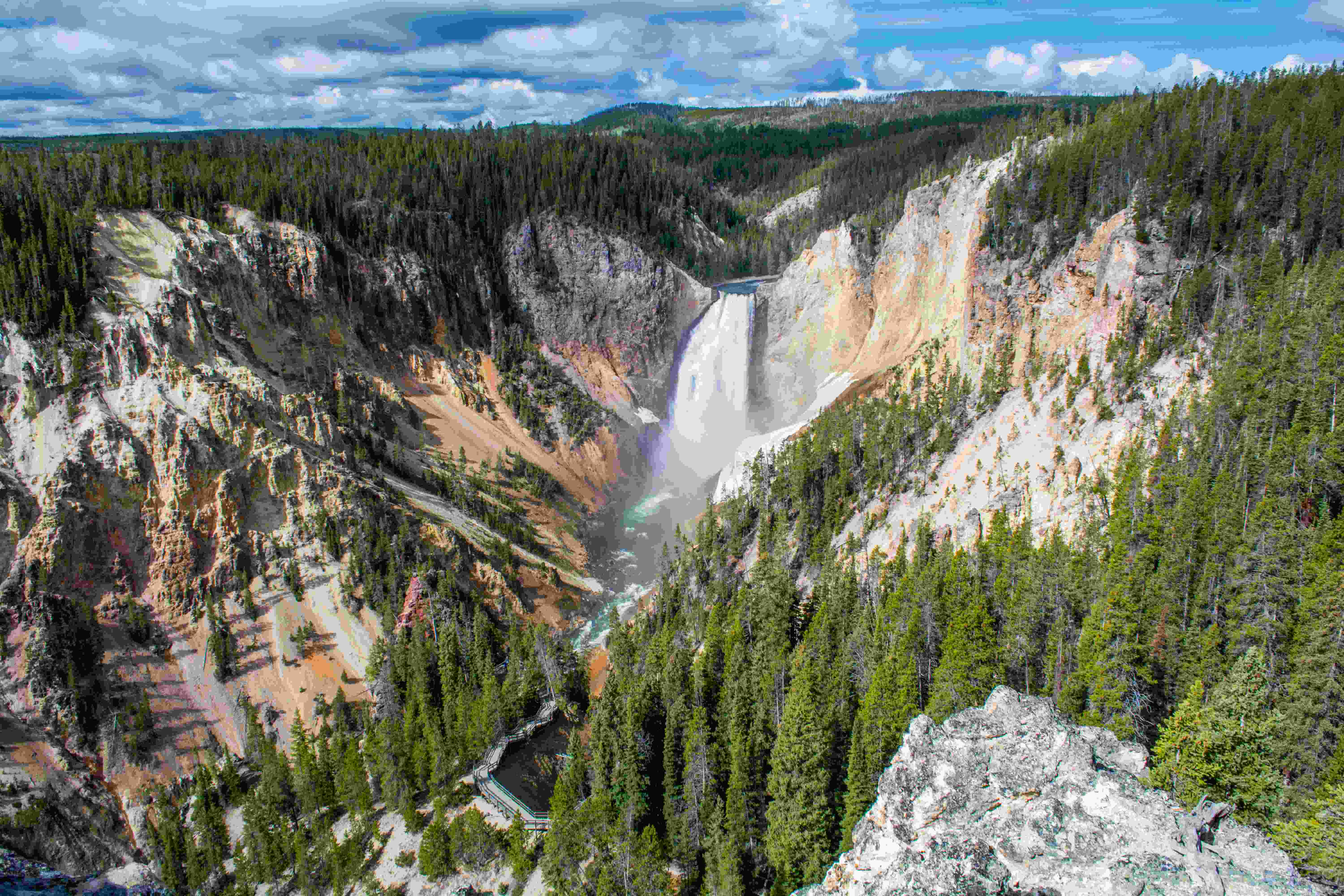 Red Rock Point Yellowstone National Park The Trek Planner
