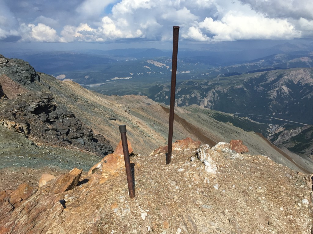 Top of the ridge!