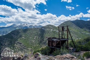 Oro Del Rey Mine/ Goshute Canyon - Deep Creek Mountains