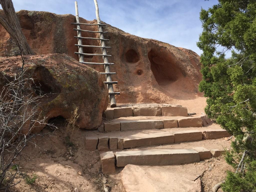 Tsankawi Prehistoric Site - New Mexico