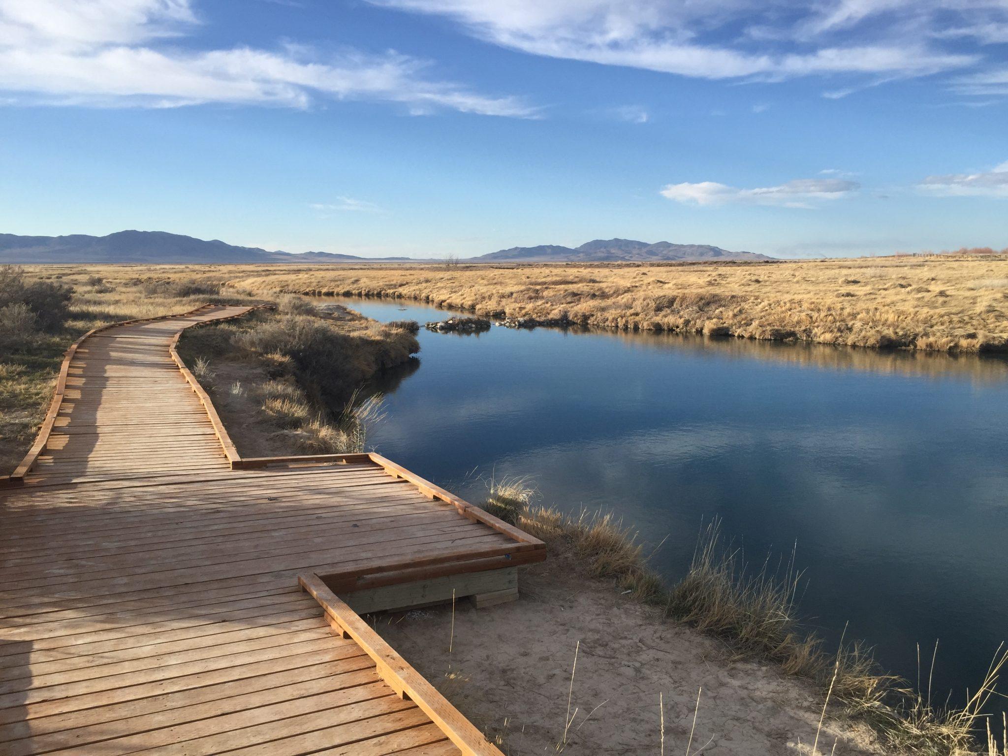 Horseshoe Springs  Skull Valley Utah  The Trek Planner