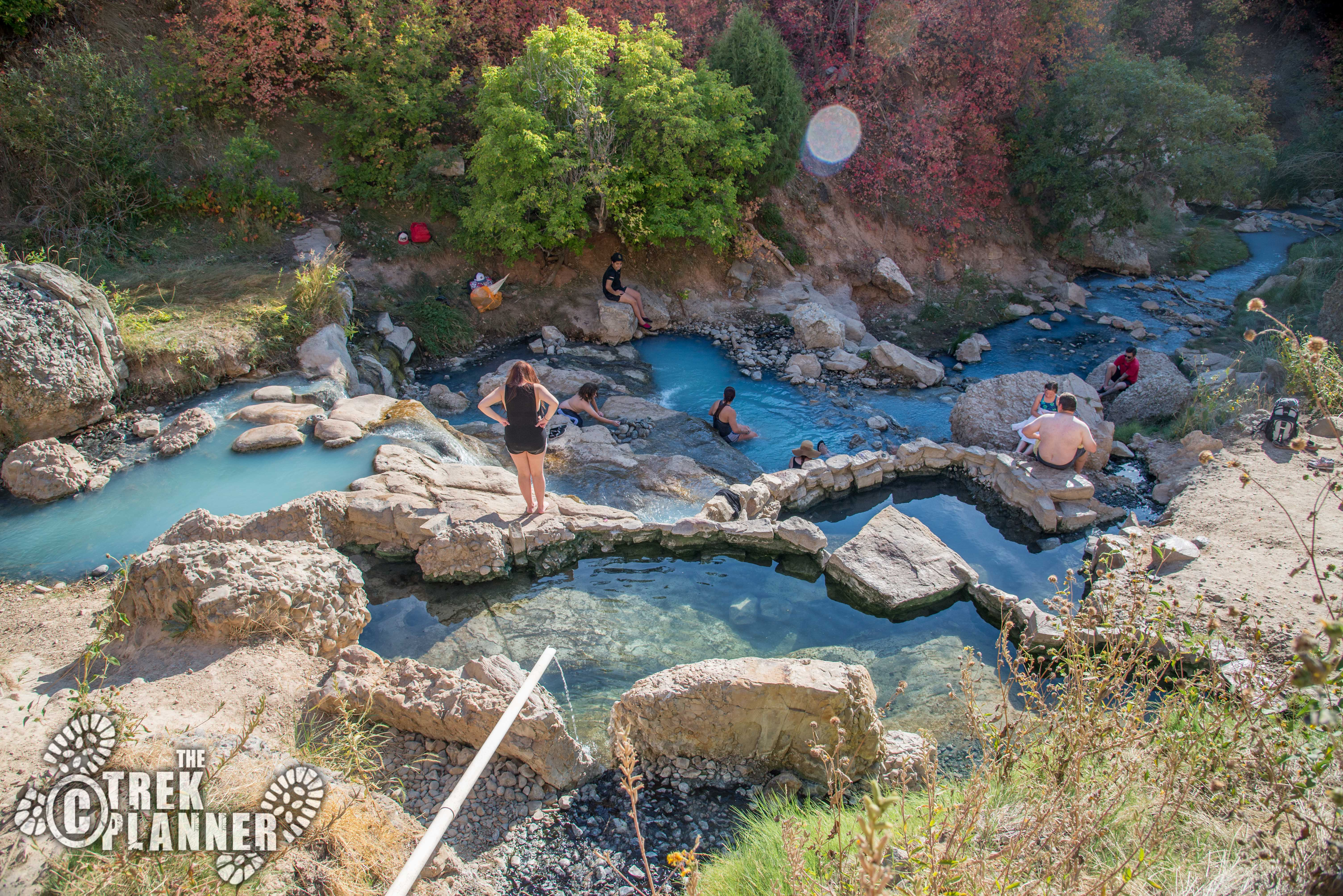 Fifth Water Hot Springs Diamond Fork Canyon Spanish