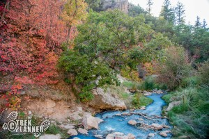 Fifth Water Hot Springs - Diamond Fork Canyon - Spanish Fork
