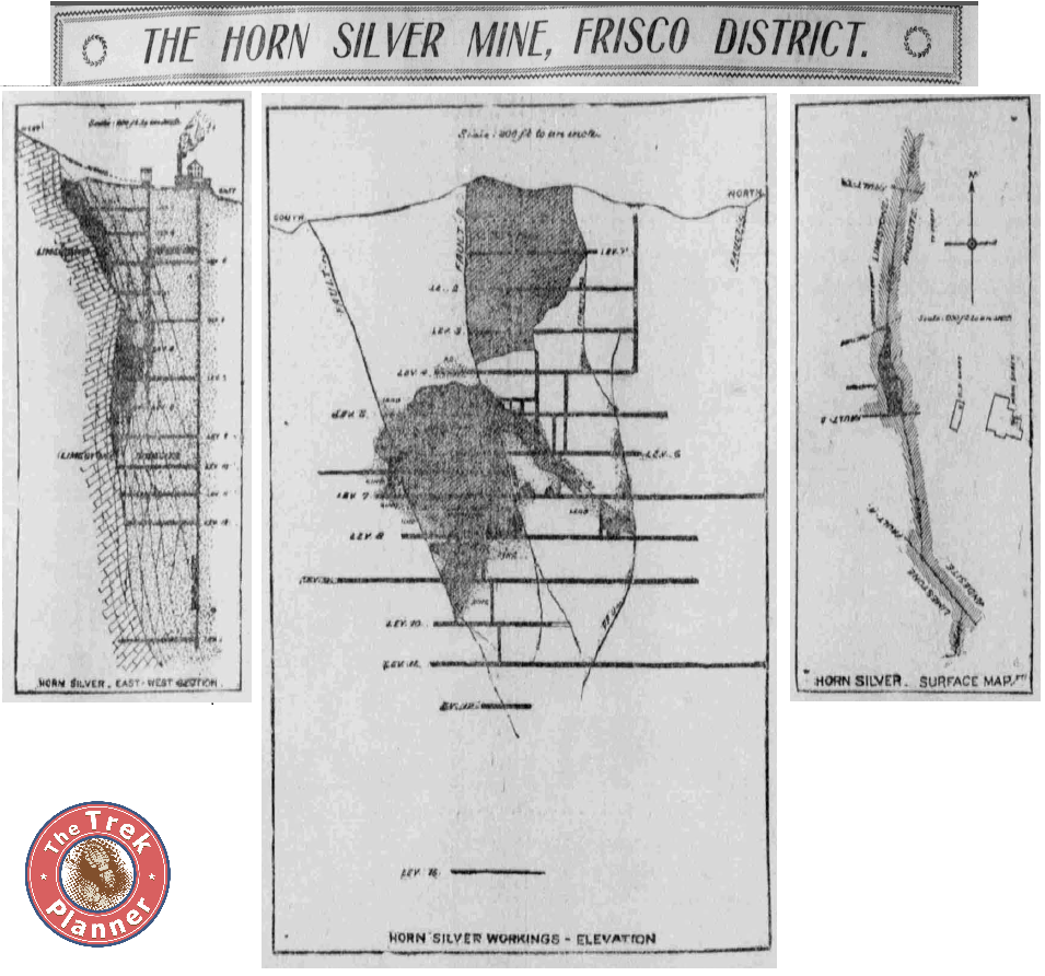 Horn Silver Mine Map