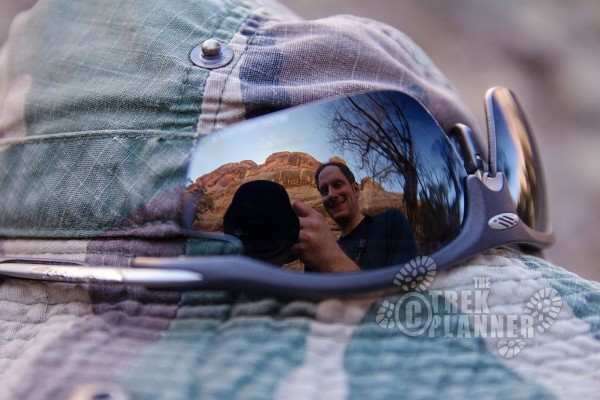 Oops, they are on my hat again! @ Canyonlands National Park, Utah