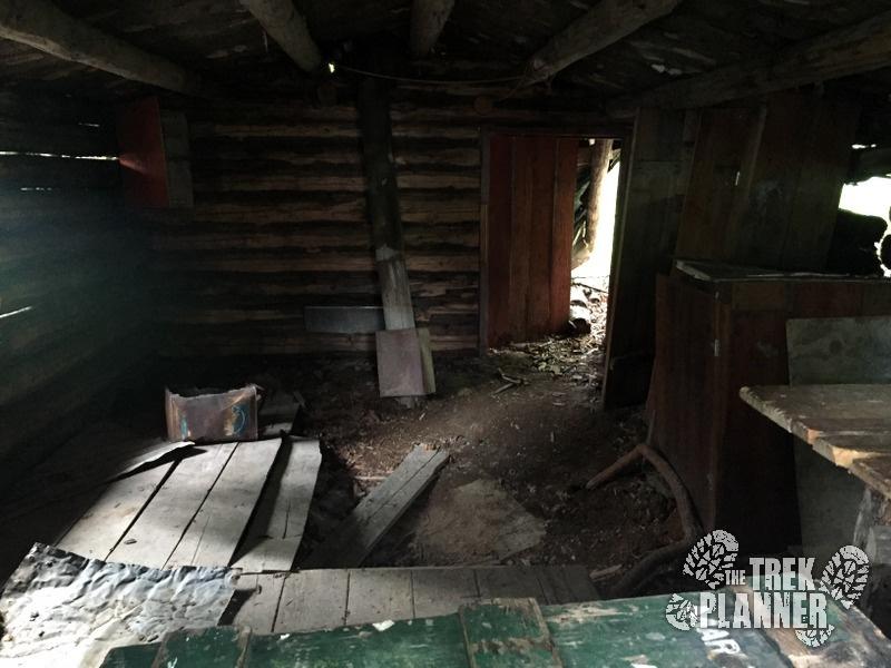 Inside Beeman's Cabin