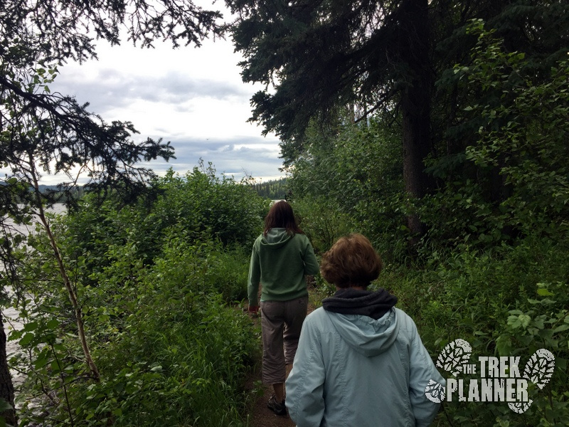 We quite enjoyed our short hike along the western shore of the lake