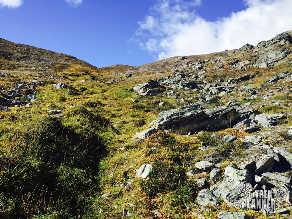 Lots of steep hiking