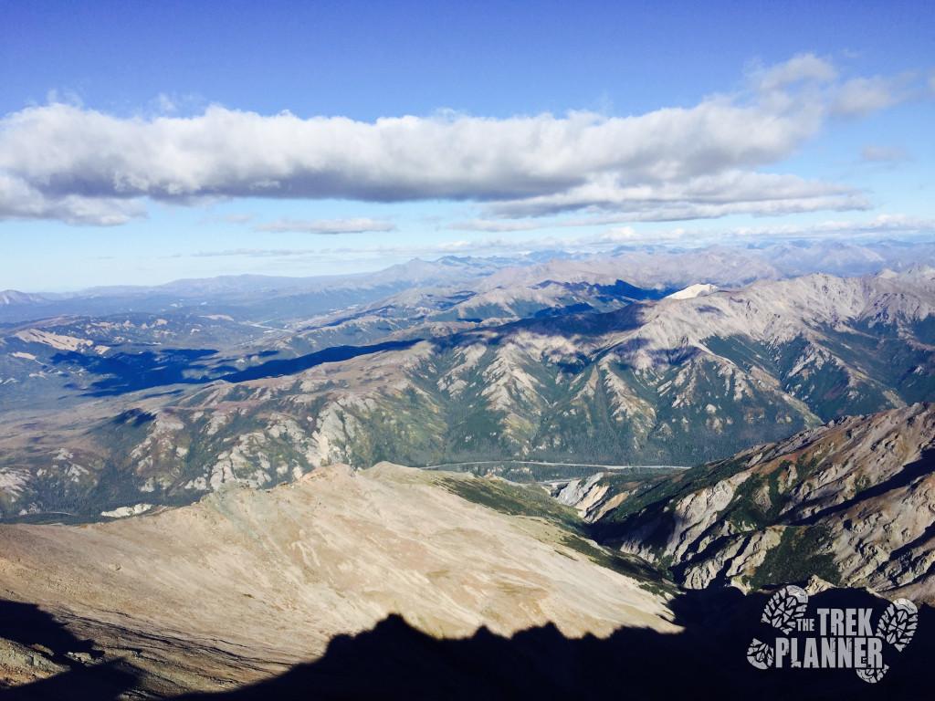 Looking east towards Sugar Loaf and Dora Peak