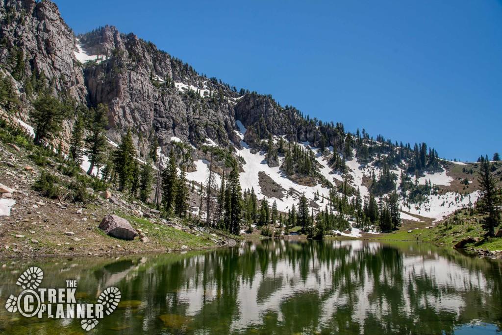 High Creek Lake and Canyon - Logan Utah