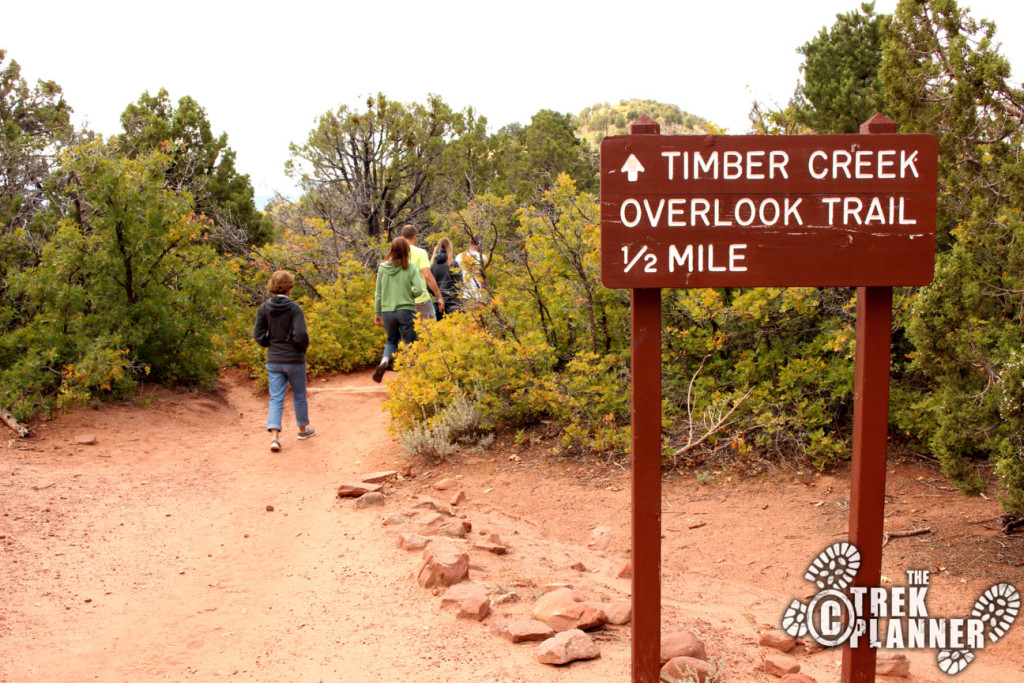Timber Creek Overlook Trail