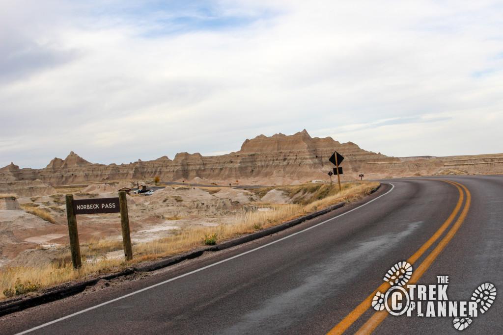 Badlands Scenic Drive