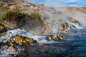 Boiling River Hot Springs - Yellowstone National Park