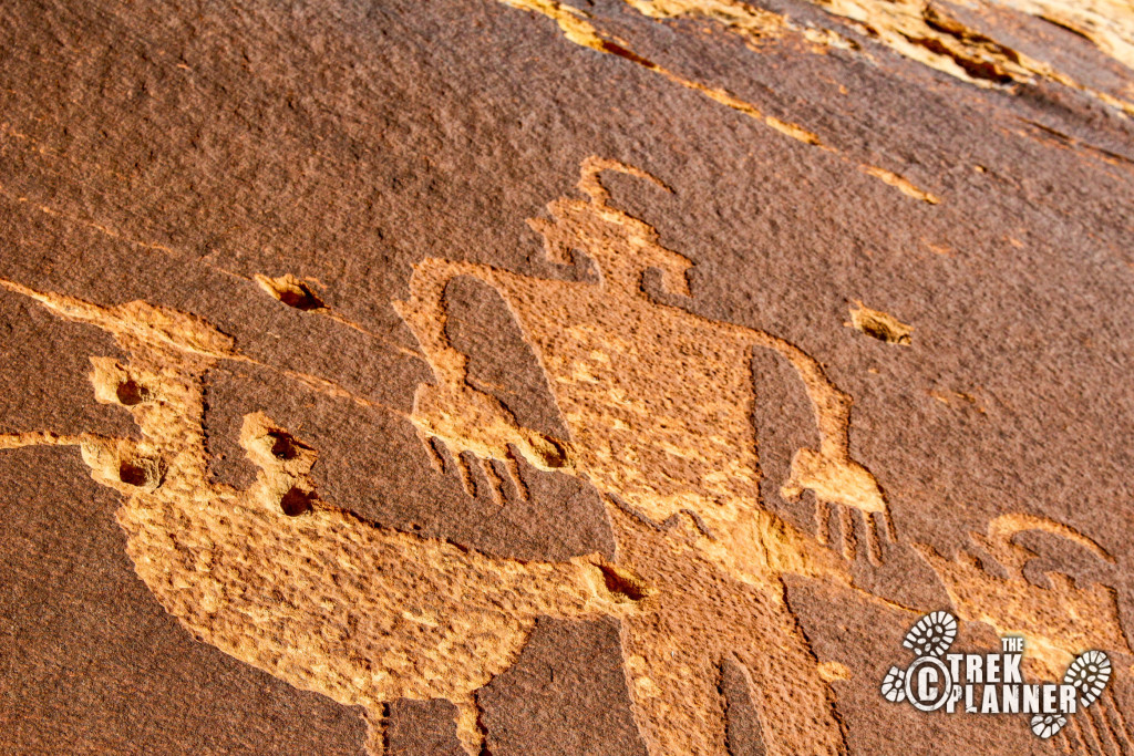 Wolfman Pictograph