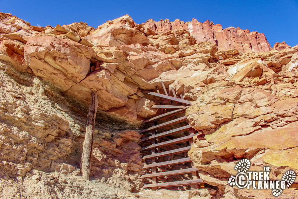 Oyler Uranium Mines - Capitol Reef National Park Utah