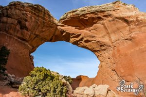 Broken Arch - Arches National Park, Utah