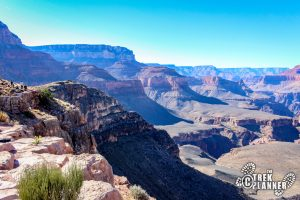 South Kaibab to Skeleton Point Trail - Grand Canyon National Park