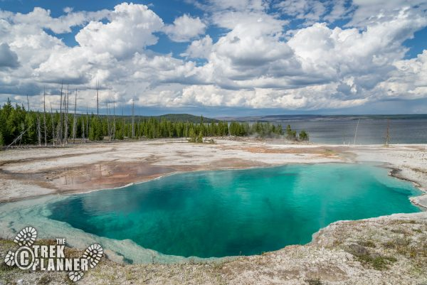 West Thumb Geyser Basin - Yellowstone National Park