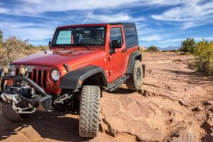 Willow Springs Trail and Dinosaur Tracks - Arches National Park