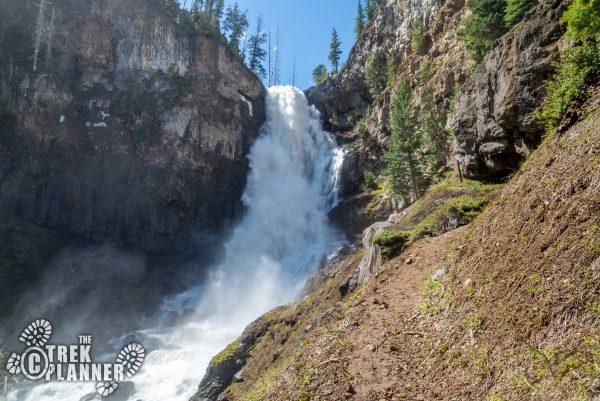 Osprey Falls - Yellowstone National Park