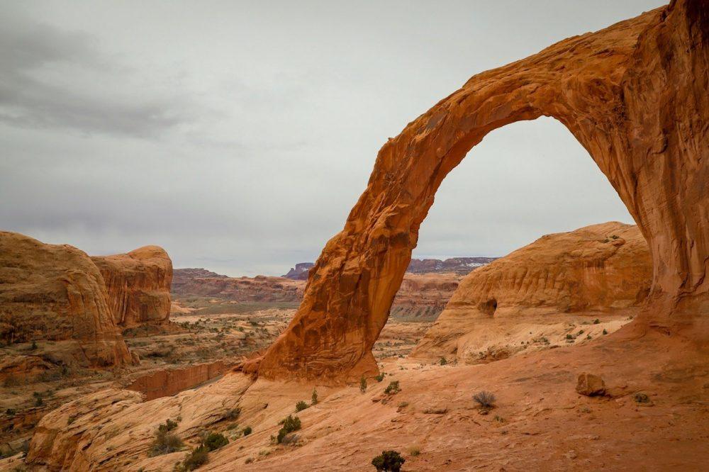 Corona Arch Moab Utah The Trek Planner